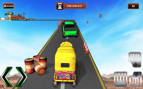 Bicycle Rickshaw Simulator 2019 : Taxi Game 4.0 Screenshots 2
