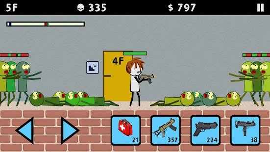 Stickman and Gun 3: Zombie Shooter Screenshot
