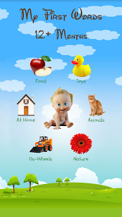 My First Words: Baby learning apps for infants