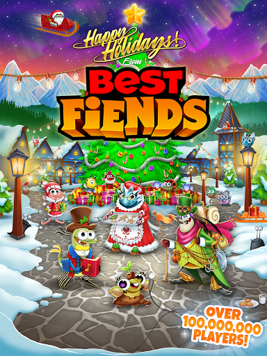 Best Fiends - Free Puzzle Game apkpoly screenshots 15