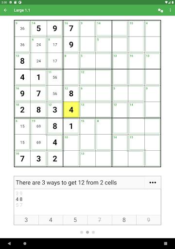 Killer Sudoku 2.1.7 screenshots 16