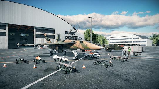 Sky Combat: war planes online simulator PVP Mod 5.0 Apk (Unlimited Bullet) 3