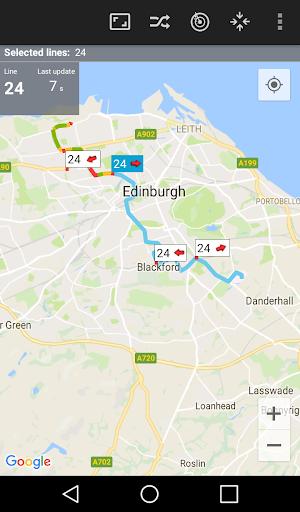 BusLive - live GPS of public transport 3.14.5 screenshots 1