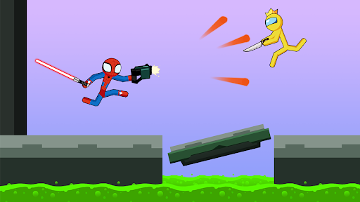Spider Stickman Fight 2 - Supreme Stickman Warrior 1.0.11 screenshots 1