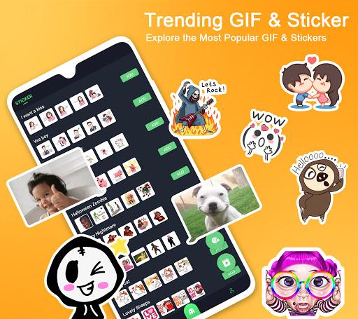 ❤️Emoji keyboard – Cute Emoticons, GIF, Stickers