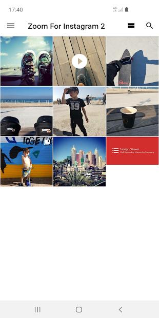 Imágen 7 de Zoom For Instagram para android