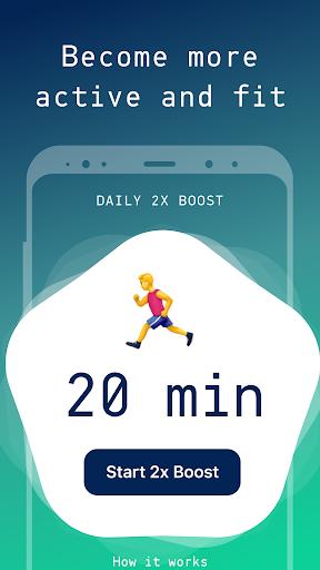 Sweatcoin — Walking step counter & pedometer app 40.0 screenshots 1