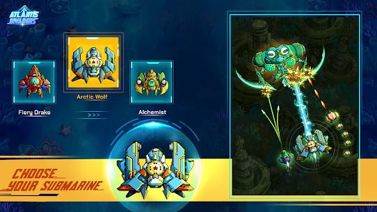 Atlantis Invaders: Submarine Space Shooter Offline 7