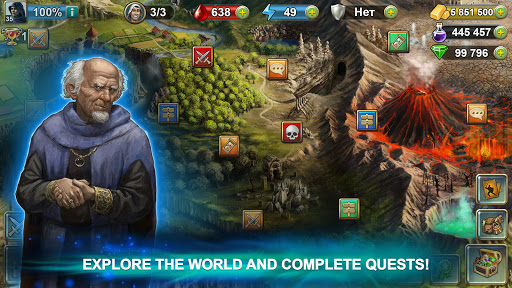 Blood of Titans: Quest & Battle Fantasy CCG screenshots 8
