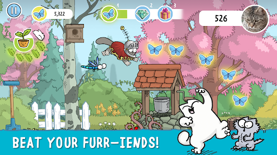 Simon's Cat Dash Screenshot