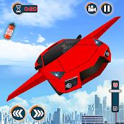 Flying Car Shooting Games - Drive Modern Cars Game