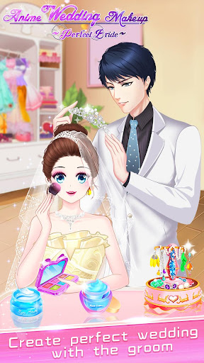 ud83dudc70ud83dudc92Anime Wedding Makeup - Perfect Bride 2.6.5052 screenshots 16