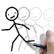 Stickman: draw animation, creator & maker, drawing icon