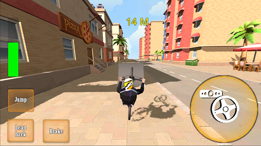 Wheelie Bike 3D - BMX stunts wheelie bike riding apkpoly screenshots 3