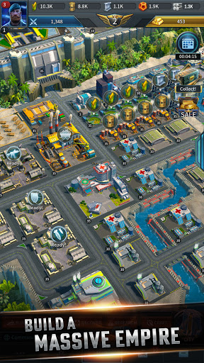 Instant War - Real-time MMO strategy game apkmr screenshots 3