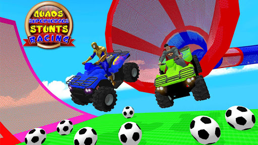 ATV Quads Superheroes Stunts Racing screenshots 13