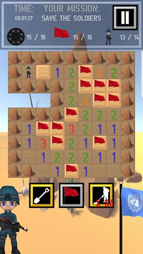 Trooper Sam - A Minesweeper Adventure apkpoly screenshots 3