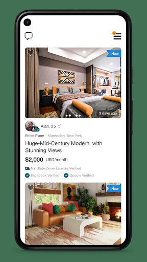 Roomster - Roommates, Roommate & Roommate Finder android2mod screenshots 1