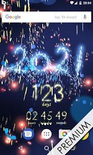 New Year countdown 3