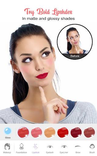 Perfect Sweet Makeup Camera-Virtual Makeover 1.0.0 Screenshots 1
