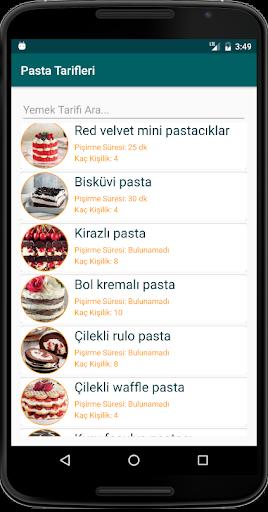 İnternetsiz Pasta Tarifleri  screenshots 2