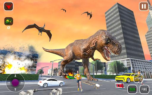 Extreme City Dinosaur Smash Battle Rescue Mission  screenshots 2