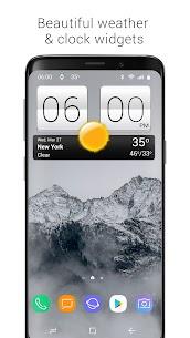 Sense V2 Flip Clock & Weather MOD APK (PREMIUM) Download 9