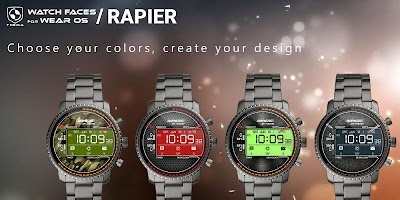 Rapier Watch Face & Clock Widget