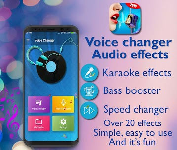 Voice Changer – Audio Effects MOD (Premium) 1