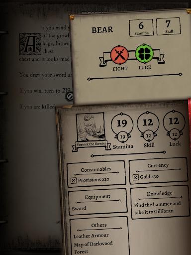 Fighting Fantasy Classics u2013 text based story game apkdebit screenshots 10