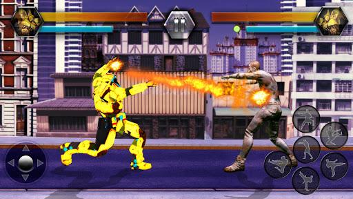 Super Robot Vs Zombies Kung Fu Fight 3D 1.10 screenshots 9