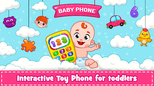 Baby Phone for toddlers - Numbers, Animals & Music  screenshots 16