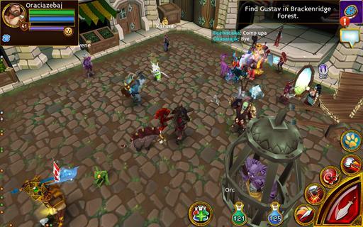 Arcane Legends MMO-Action RPG  screenshots 8