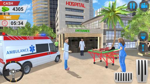 Emergency Ambulance Game - New Games 2020 Offline 1.1.14 screenshots 3