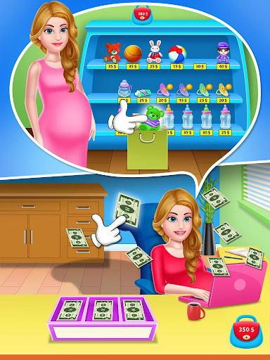 Mommy & newborn babyshower - Babysitter Game 32.0 screenshots 6