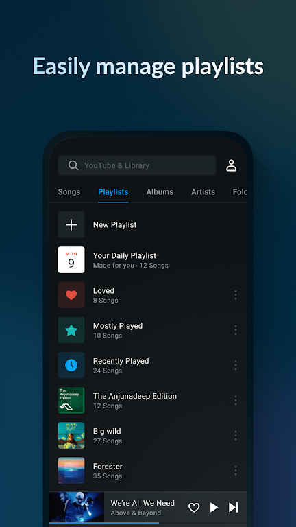 Music Player & MP3 Player - Lark Player poster 2