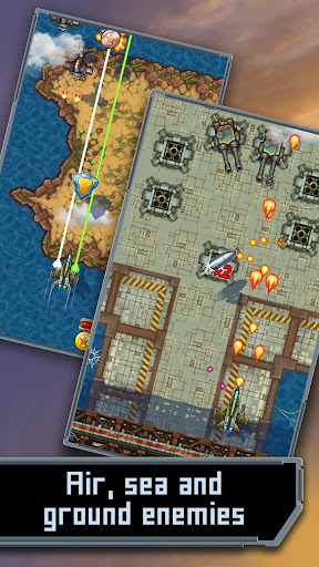 Mig 2D: Retro Shooter! apkmr screenshots 8