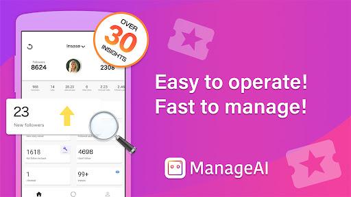 Follow Manager for Free | Manage AI apktram screenshots 2