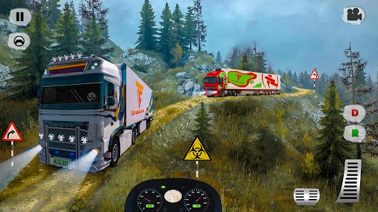 cargo truck simulator 2021 : truck driver europe hack