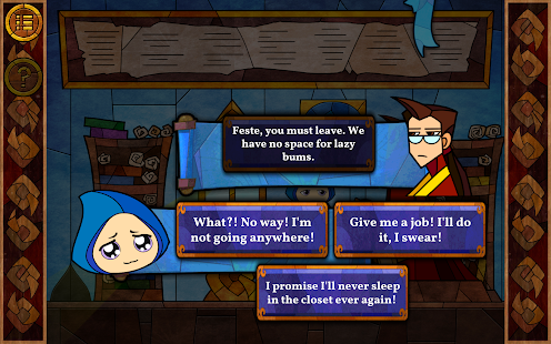 Message Quest — the amazing adventures of Feste Screenshot
