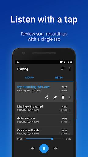 easy voice recorder screenshot 3