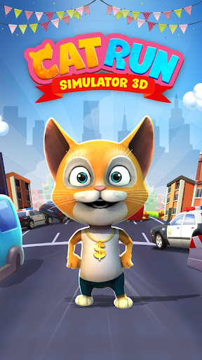 Cat Run Simulator 3D : Design Home screenshots 1