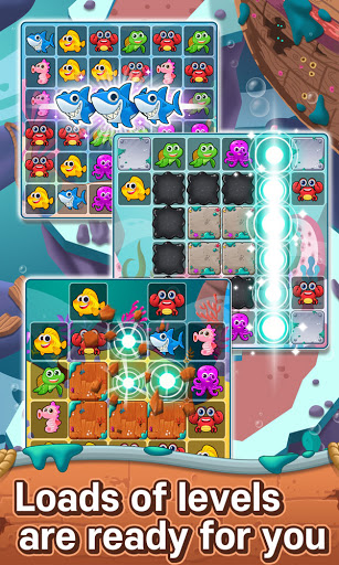 Ocean Match-3 Puzzle apkpoly screenshots 2