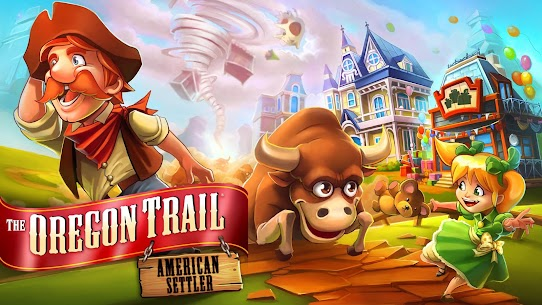 """Download The Oregon Trail: Settler Strategy game """"Oregon Trail: Immigrant"""" Android 5"""