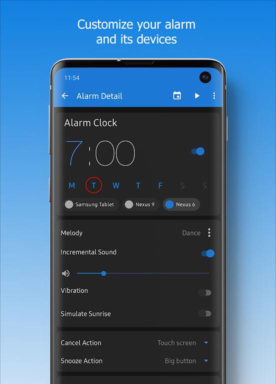 Turbo Alarm Clock ⏰ 😴 📢 The Ultimate Alarm Clock  poster 1