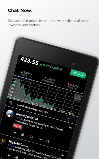 Stocktwits - Stock Market Chat android2mod screenshots 10