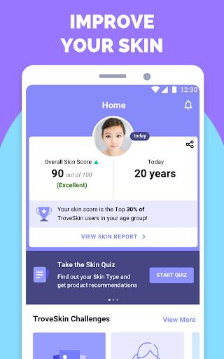 TroveSkin: Your Skincare Coach 7.4.4 Screenshots 1