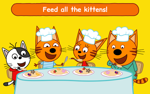 Kid-E-Cats: Cooking for Kids with Three Kittens!  screenshots 22