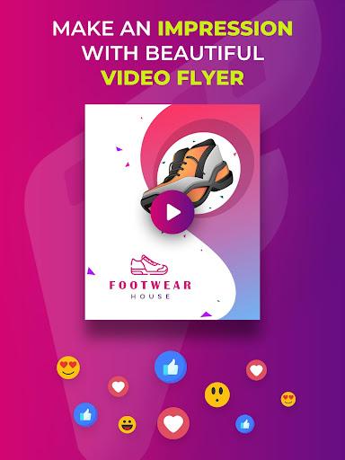 Video Flyers - Flyer Maker, Make Poster, Video Ads 21.0 Screenshots 8