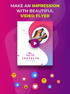 Flyer Maker, Poster Maker With Video Screenshot